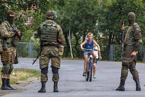 Голая женщина прошлась по улицам Киева