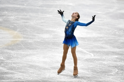 Российская фигуристка первой выполнила сложнейший прыжок в истории