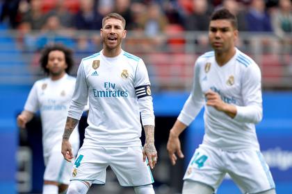 Капитан «Реала» во время матча сбежал в туалет