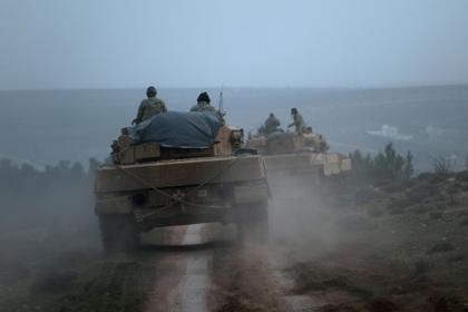 Курдская пехота решила дать отпор турецким танкам