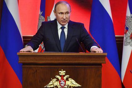 Путин предупредил о хаосе после действий США