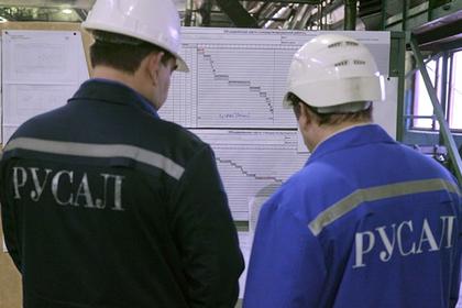 Санкции США уронили акции «Русала» до минимума