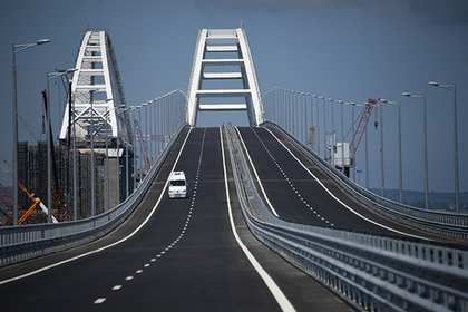 Украина назвала Крымский мост «путем в никуда»