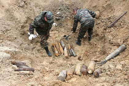 Раскрыта причина увеличения количества найденных в Подмосковье боеприпасов