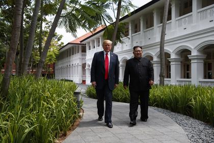 Трамп и Ким Чен Ын решили съездить друг к другу в гости