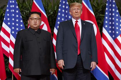 Трамп признался в возникшей между ним и Ким Чен Ыном «химии»