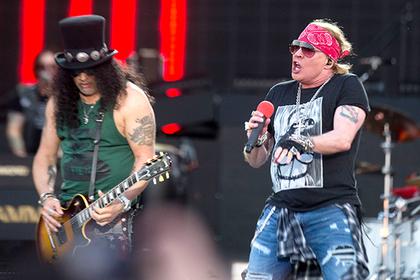 Группа Guns N'Roses приедет в Россию