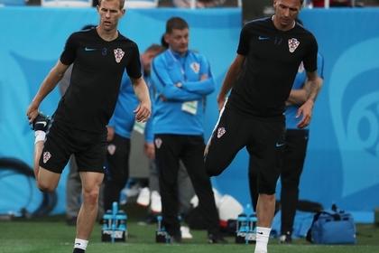Два игрока сборной Хорватии обратились в больницу после матча с Россией