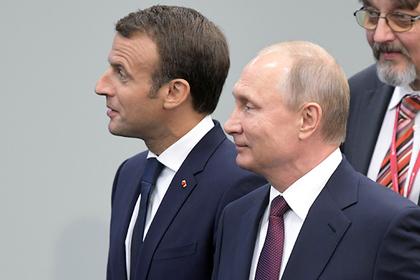Кремль анонсировал контакты Путина и Макрона на финальном матче ЧМ-2018