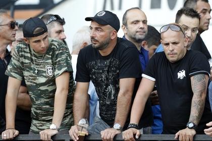 «Спартак» спас российских журналистов от греческих фанатов