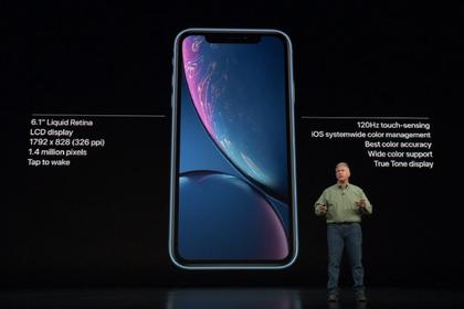 Apple анонсировала «дешевый» iPhoneXr