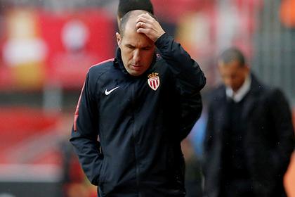 «Монако» избавился от тренера