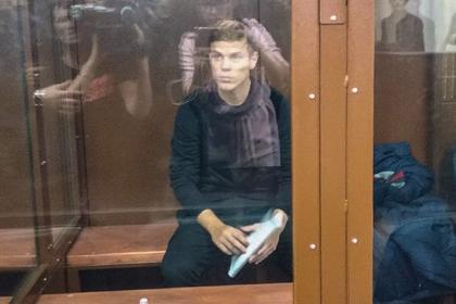 Кокорина попросили отпустить под подписку о невыезде