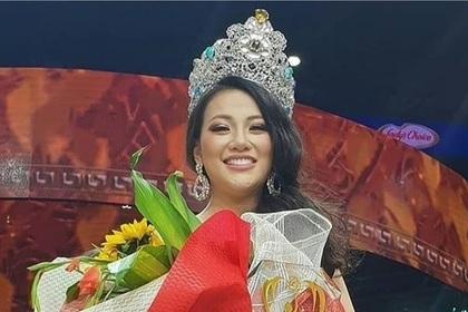 Выбрана новая «Мисс Земля»