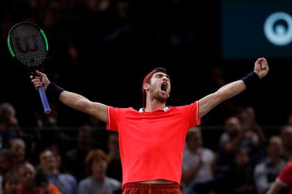 Россиянин прервал 22-матчевую гегемонию Джоковича и выиграл турнир серии «Мастерс»
