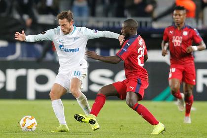«Зенит» остался без победы в Лиге Европы