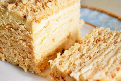 Назван единственный безопасный для здоровья торт «Наполеон»