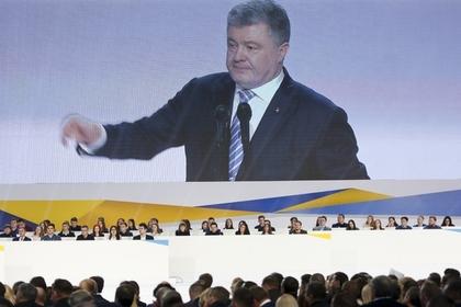 Порошенко предостерег украинцев от хихикающего президента