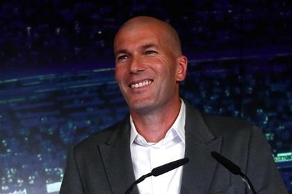 Зидан обрадовался возвращению в «Реал»