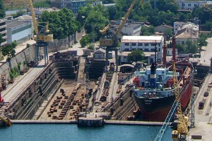 Бывший завод Порошенко отдадут под ремонт российских кораблей