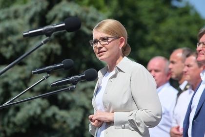 Тимошенко рассказала об упадке украинской экономики