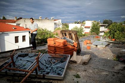 Раскрыты подробности гибели отца и ребенка из России при шторме в Греции