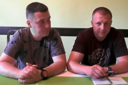 Сбежавшие на Украину российские полицейские вышли на связь