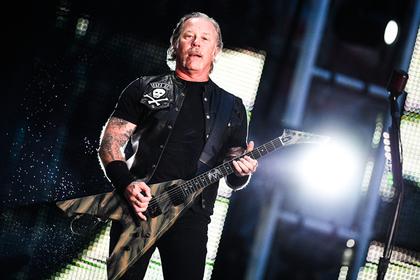 Объяснен выбор «Группы крови» на концерте Metallica
