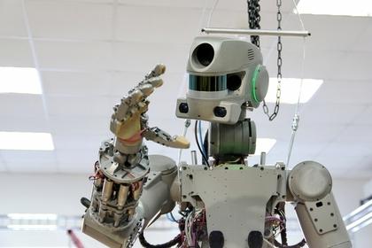 Опубликован клип о роботе Федоре