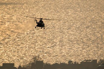 Туристы пострадали в результате жесткой посадки вертолета