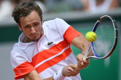 Медведев впервые в карьере вышел в полуфинал турнира «Большого шлема»