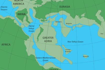 Под Европой нашли затерянный континент