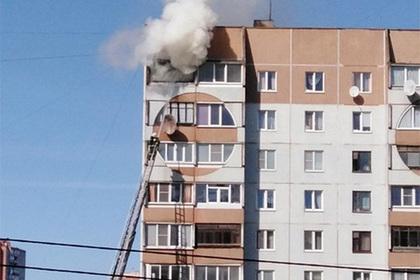 Сработавшая как лупа банка устроила пожар в жилом доме