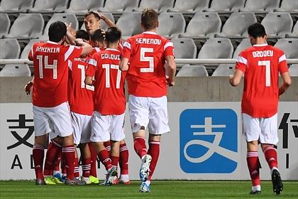 Сборная России по футболу вышла на Евро-2020
