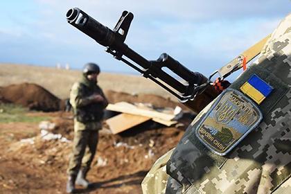 Украина сообщила о погибших в Донбассе военных