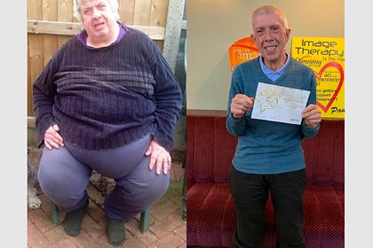 Тучный мужчина пережил тяжелый развод и сокращение и сбросил 114 килограммов