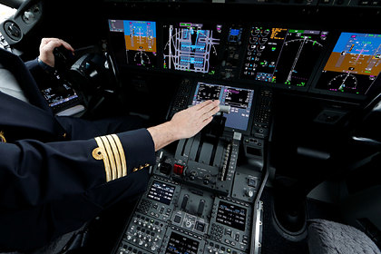 Изобретена позволяющая легко посадить самолет кнопка для экстренных ситуаций