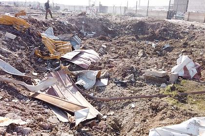 На Украине рассказали о возвращении тел погибших в авиакатастрофе в Иране