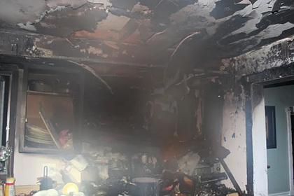 Шестилетняя девочка спасла семью от гибели в пожаре