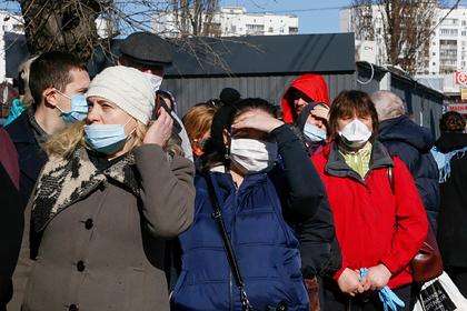 На Украине увеличилось число зараженных коронавирусом