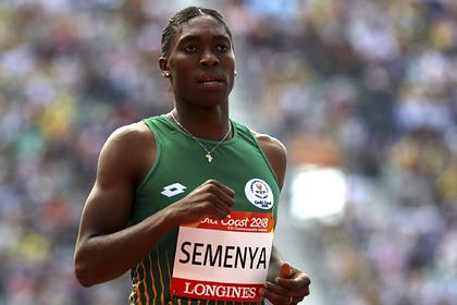 Олимпийская чемпионка с повышенным уровнем тестостерона одолела Роналду