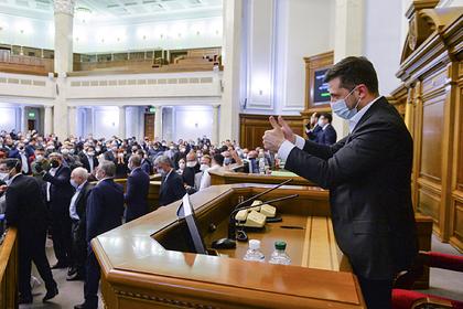 На Украине отменили режим самоизоляции для представителей власти