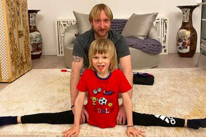 Сын Плющенко ответил на гадости Аршавина