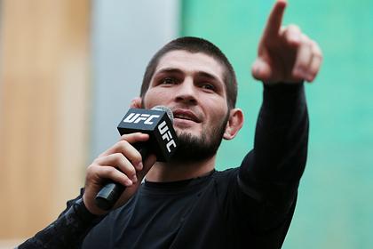 Названа стоимость публичных выступлений Нурмагомедова