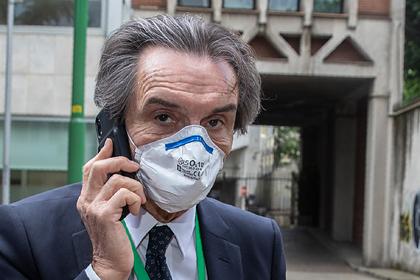 Главу региона в Италии заподозрили в «семейных» махинациях на фоне коронавируса