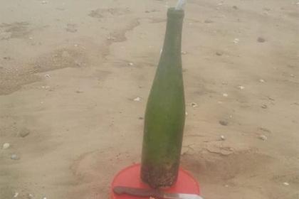 Письмо в бутылке за год переплыло океан и нашло получателя