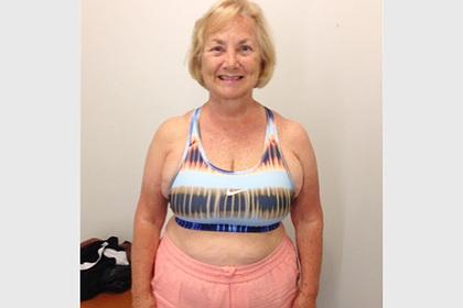 71-летняя женщина сбросила 28 килограммов за полгода и раскрыла секрет похудения