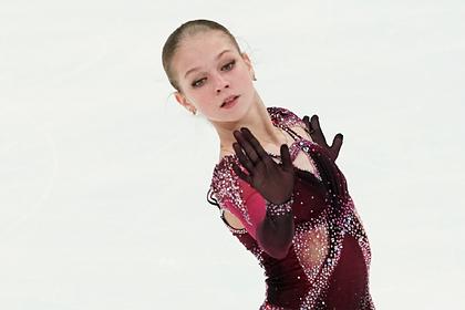 Трусова прокомментировала победу на Кубке России