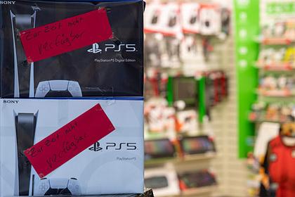 Sony рассказала о продажах PlayStation5