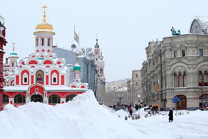 Гидрометцентр объяснил аномальные снегопады и морозы в Москве